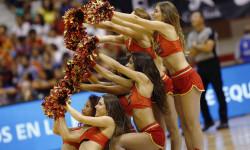 animadoras de baloncesto basket lovers  Selección Española de basket con victoria an (10)