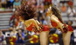 animadoras de baloncesto basket lovers  Selección Española de basket con victoria an (11)