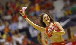 animadoras de baloncesto basket lovers  Selección Española de basket con victoria an (3)