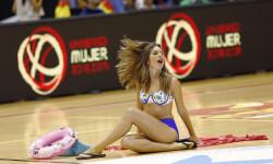 animadoras de baloncesto basket lovers  Selección Española de basket con victoria an (7)