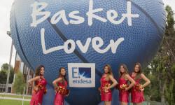 animadoras de baloncesto basket lovers  Selección Española de basket con victoria an (8)