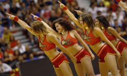 animadoras de baloncesto basket lovers  Selección Española de basket con victoria an (9)