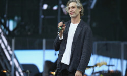 BERLIN, GERMANY - JULY 28:  Singer Matisyahu performs at the official opening ceremony of the European Maccabi Games at the Waldbuehne on July 28, 2015 in Berlin, Germany. Over 2,000 Jewish athletes from Maccabi clubs all over the world will compete for the next week in Berlin at the Olympiastadion where in 1936 Nazi Germany held the Olympics and excluded its own Jewish athletes. The Maccabi games take place every four years and first took place in Prague in 1929.  (Photo by Sean Gallup/Getty Images)