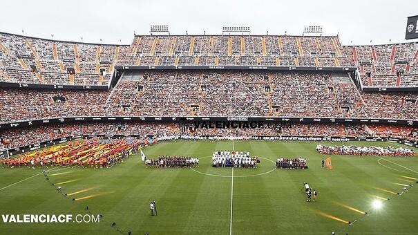VALENCIA, 08-08-2015. Mescal Stadium, friendly match pre-season. 2015 / 2016. Valencia CF v AS Roma