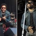 Lenny Kravitz se le rompió el pantalón y mostró sus partes íntimas en pleno show