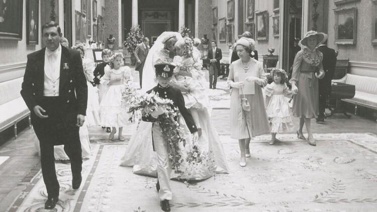 princesa Diana Príncipe Carlos Reino Unido Isabel II , Fotos Bodas Casamiento (7)