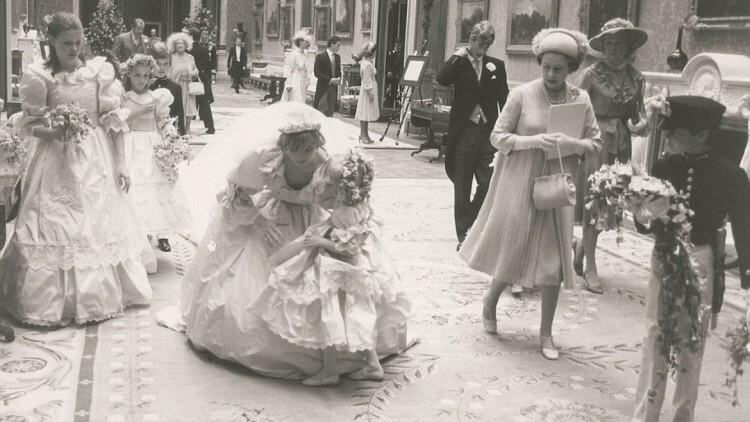 princesa Diana Príncipe Carlos Reino Unido Isabel II , Fotos Bodas Casamiento (8)