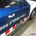 se saltó un control en el Baix Llobregat y chocó con dos vehículos policiales (1)