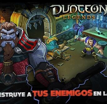 'Dungeon Legends' es un juego de rol y acción.