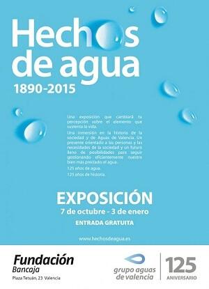 'Hechos de Agua', es una muestra que propone al visitante un recorrido de 125 años para que compruebe hasta qué punto se ha transformado Valencia.