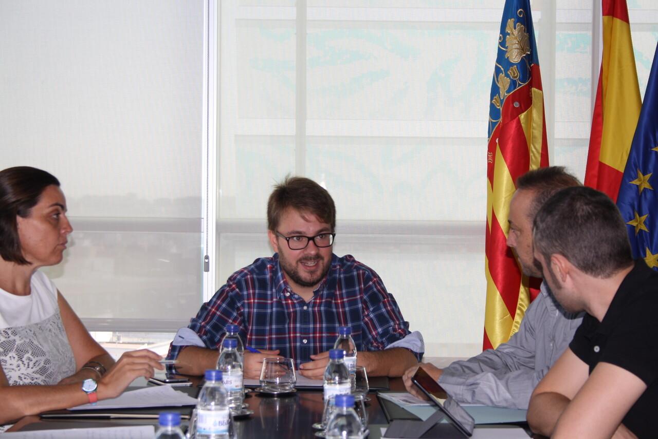 D. Alberto Ibañez Mezquita, responsable de la Secretaría Autonómica de Inclusión y de la Agencia Valenciana de la Igualdad