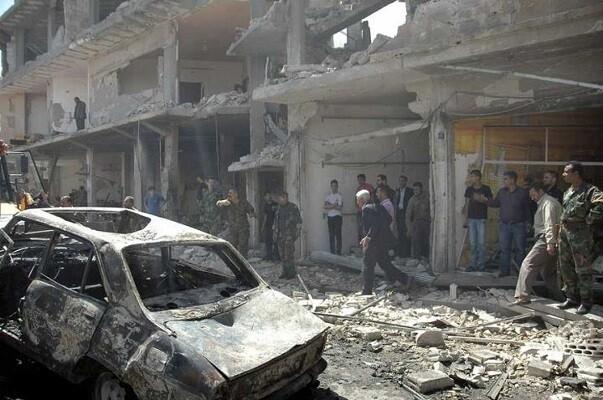 17 muertos en un ataque a un barrio rebelde de Homs en Siria.