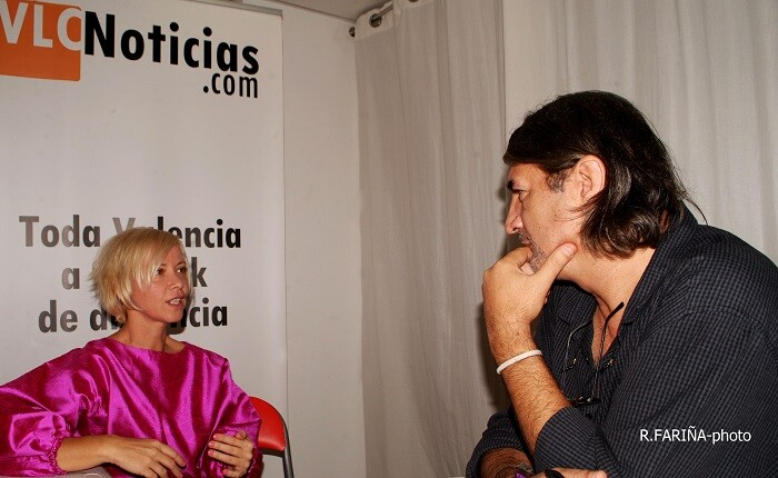 Albiach durante la entrevista (Foto-R.Fariña-Valencia Noticias).