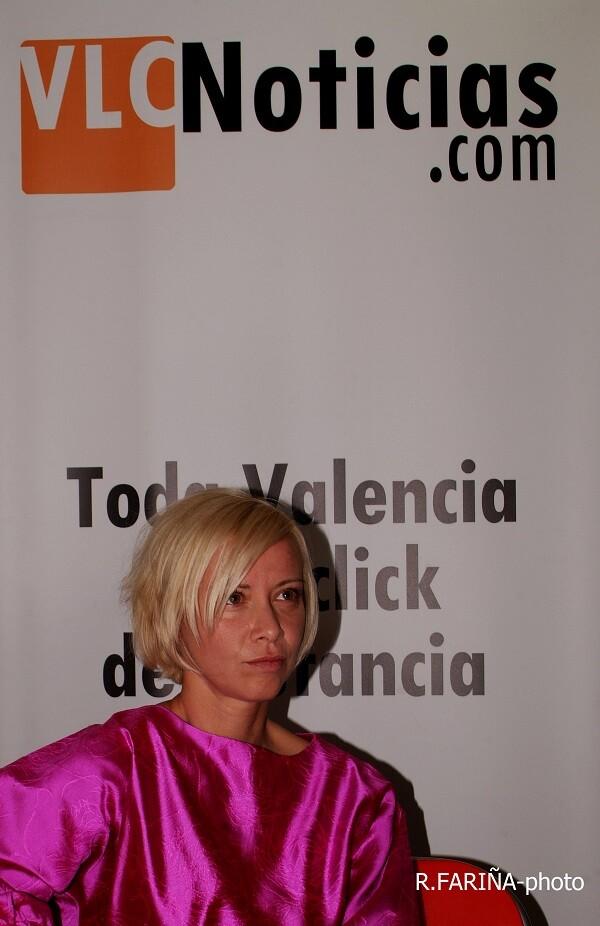 Albiach llevó sus prendas a una de las ferias más importantes en moda sostenible (Foto-R.Fariña-Valencia Noticias).