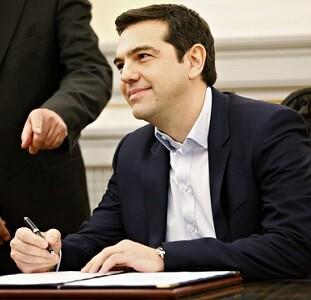 Alexis Tsipras gobernará en coalición con la formación nacionalista derechista Griegos Independientes.