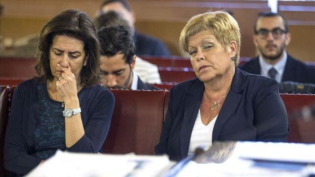 Angélica Such y Milagrosa Martínez, exconselleras de Turismo con Francisco Camps
