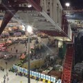 Damage caused by a collapsed crane is seen in the Grand Mosque in the Muslim holy city of Mecca, Saudi Arabia in this handout picture published on Twitter account of the Directorate of the Saudi Civil Defense September 11, 2015. At least 107 people were killed when the crane toppled over at Mecca's Grand Mosque on Friday, Saudi Arabia's Civil Defence authority said, less than two weeks before Islam's annual haj pilgrimage.  REUTERS/Directorate of the Saudi Civil Defense/Handout via ReutersATTENTION EDITORS - THIS IMAGE HAS BEEN SUPPLIED BY A THIRD PARTY. IT IS DISTRIBUTED, EXACTLY AS RECEIVED BY REUTERS, AS A SERVICE TO CLIENTS. REUTERS IS UNABLE TO INDEPENDENTLY VERIFY THE AUTHENTICITY, CONTENT, LOCATION OR DATE OF THIS IMAGE. FOR EDITORIAL USE ONLY. NOT FOR SALE FOR MARKETING OR ADVERTISING CAMPAIGNS. NO SALES.      TPX IMAGES OF THE DAY