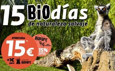 BIOPARC Valencia lanza una promoción para aliviar la rentrée.