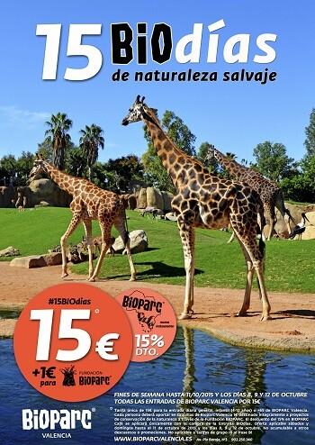 BIOdías de naturaleza salvaje en BIOPARC Valencia.