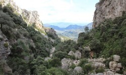 Barranco de Valldefiguera en Chulilla.