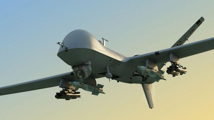 Cómo es el drone que mató a dos yihadistas británicos del Estado Islámico (1)