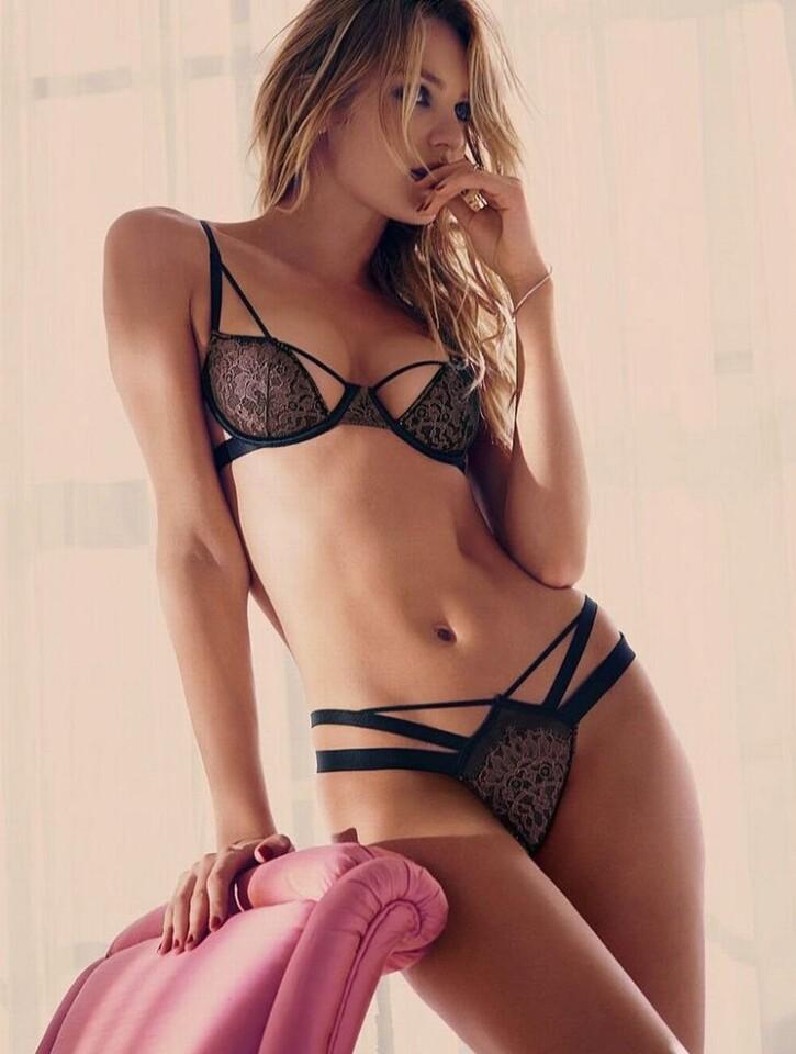 Candice Swanepoel modelo de Victoria s Secret se cayo (4)