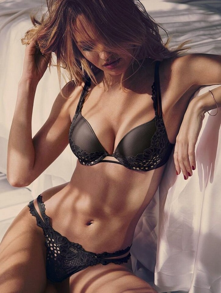 Candice Swanepoel modelo de Victoria s Secret se cayo (6)