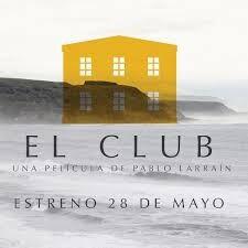 Cartel de 'El club'.