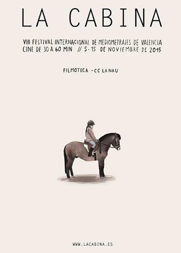 Cartel de la VIII Edición La Cabina.