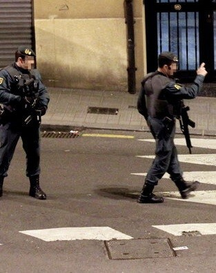 Con esta operación de la Guardia Civil se pretende poner fin a la realización de actos de homenaje a los miembros de la banda terrorista ETA.