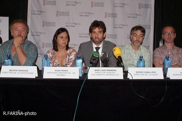 CulturArts presentó la programación de otoño de los teatros Principal y Rialto. (Foto-R.Fariña-Valencia Noticias).