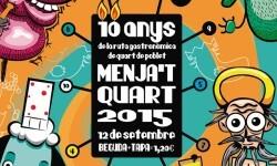 El 'Menja't Quart' celebra su X edición esperando recibir a más de 1500 participantes. (Foto-Valencia Noticias)