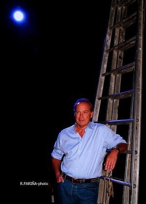 El cantante y presentador televisivo Bertín Osborne. (Foto-R.Fariña-Valencia Noticias).