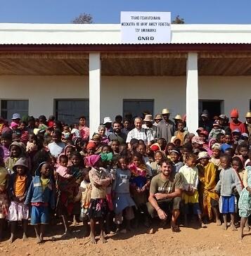 El comedor abrirá sus puertas el próximo día 6 de octubre coincidiendo con el inicio del nuevo curso escolar en Madagascar. (Foto-Valencia Noticias).