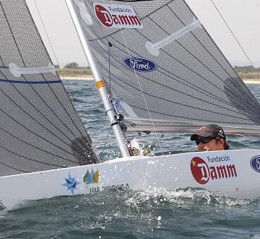 El español Arturo Montes, durante la competición.(Foto-José Jordán).