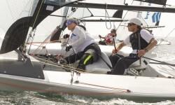 El francés Damien Seguin y los holandeses Rolf Schrama y Sandra Nap, campeones de Europa de Vela Paralímpica