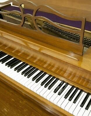 El instrumento es el piano de prácticas que utilizó José Iturbi durante su estancia en Nueva York (Foto-Abulaila).