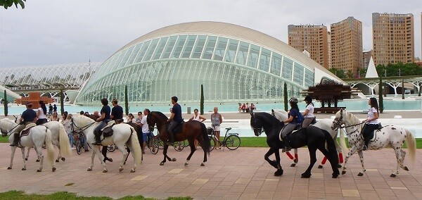 El objetivo de ValenciaCaballo 2015 es acercar todo lo posible el mundo del caballo al ciudadano.