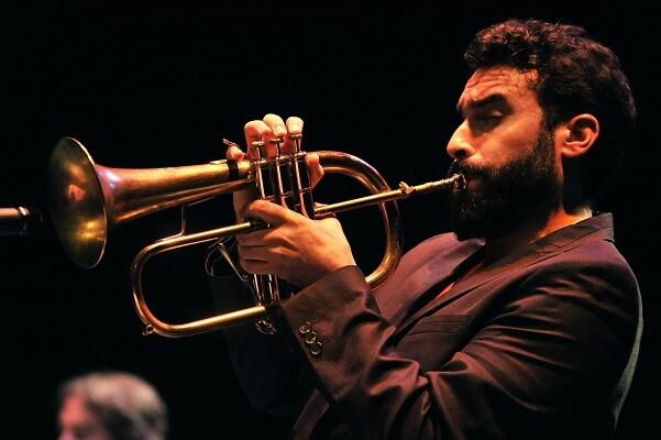 El trompetista Julián Sánchez, figura principal del 'Kenny Wheeler Mode'.