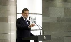 En su intervención, Mariano Rajoy hizo un llamamiento al ejecutivo que resulte del nuevo Parlamento autonómico.