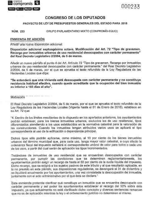 Enmienda Compromís IBI