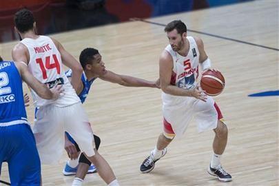 España derrotó a Turquía (Foto: A.Nevado/FEB)