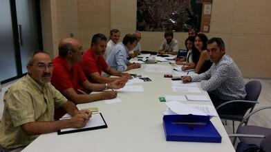 Esta mañana se constituyó el grupo de trabajo interdepartamental del Ayuntamiento de Valencia para coordinar las acciones en la lucha contra el mosquito tigre.