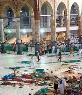 Este grave accidente tuvo lugar cuando La Meca se prepara para la inminente peregrinación o 'hach'.