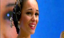 Fallas; Los rostros de la emoción en la Corte de honor y candidatas a Fallera Mayor de Valencia (13)