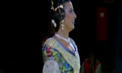 Fallas; Los rostros de la emoción en la Corte de honor y candidatas a Fallera Mayor de Valencia (15)