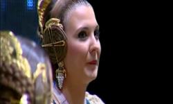 Fallas; Los rostros de la emoción en la Corte de honor y candidatas a Fallera Mayor de Valencia (18)