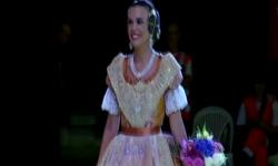 Fallas; Los rostros de la emoción en la Corte de honor y candidatas a Fallera Mayor de Valencia (24)