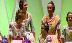 Fallas; Los rostros de la emoción en la Corte de honor y candidatas a Fallera Mayor de Valencia (26)