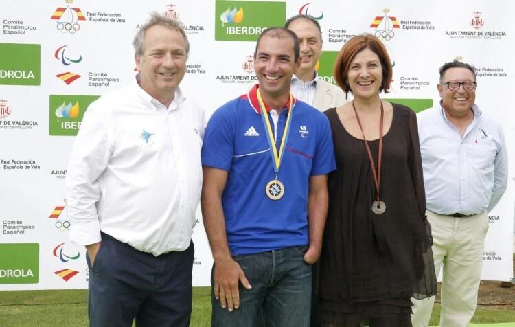 Fotografías entrega de trofeos Campeonato de Europa EUROSAF de Vela Paralímpica - V Trofeo Internacional Iberdrola (1)